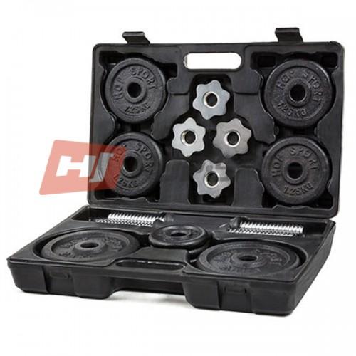 Гантели Hop-Sport 2х10 кг., код: HS-MK2-10
