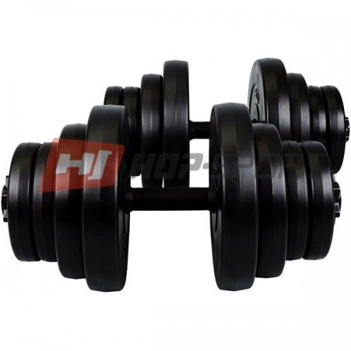 Гантель разборная CrossGym 2х20 кг, код: HD931