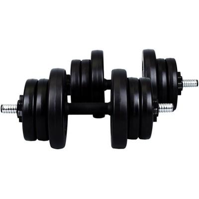 Гантель разборная CrossGym 2х10 кг, код: HD929