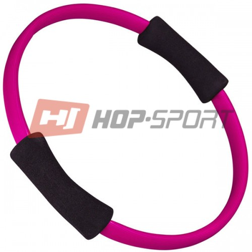Круг для пилатеса Hop-Sport (розовый), код: DK2221P