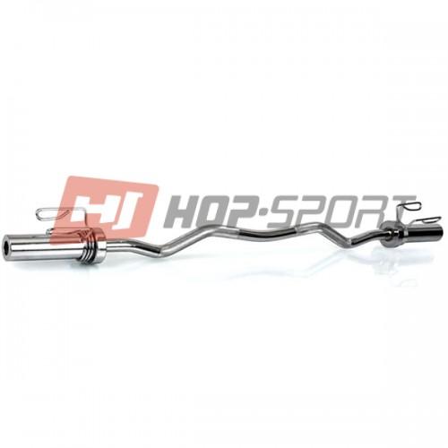Гриф Hop-Sport W-образный D=50 мм, 1200 мм., код: HS-W120