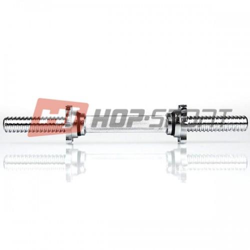 Гантельная ручка Hop-Sport 450х30 мм., код: HD126