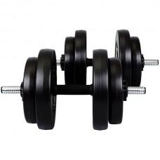 Гантель разборная CrossGym 2х15 кг, код: HD930